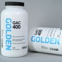 3940 GAC 400 Acrylic Polymer. Golden, 946ml plastic container